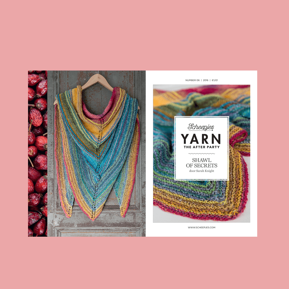 YARN The After Party nr. 06 - Shawl of Secrets - Scheepjes