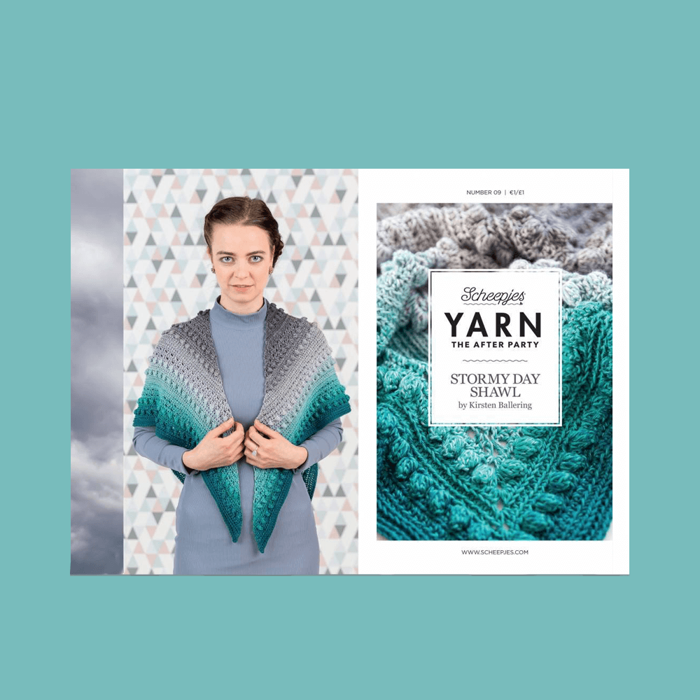 YARN The After Party nr. 09 - Stormy Day Omslagdoek Scheepjes