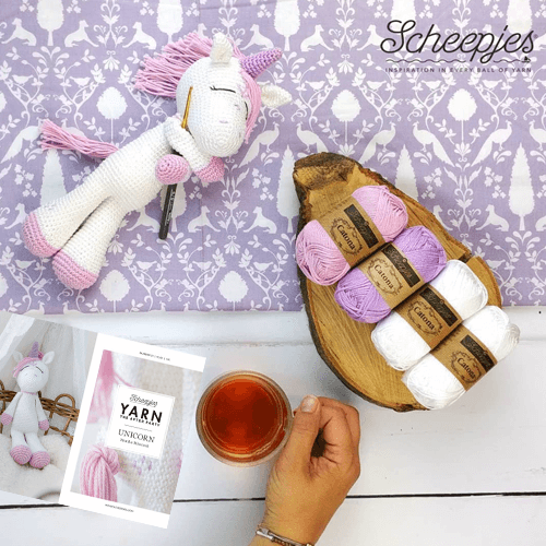 YARN The After Party nr. 31 - Unicorn Scheepjes - Haakpakket