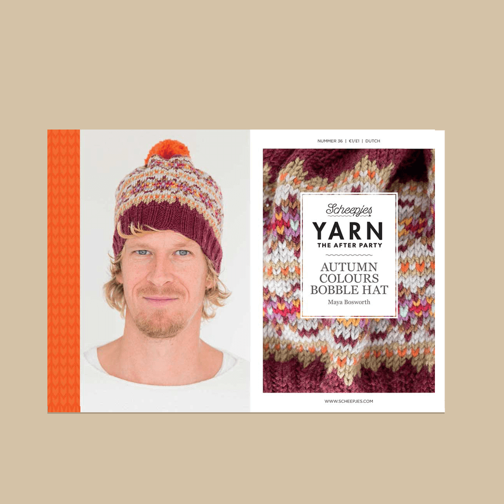 YARN The After Party nr.36 - Autumn Bobble Hat
