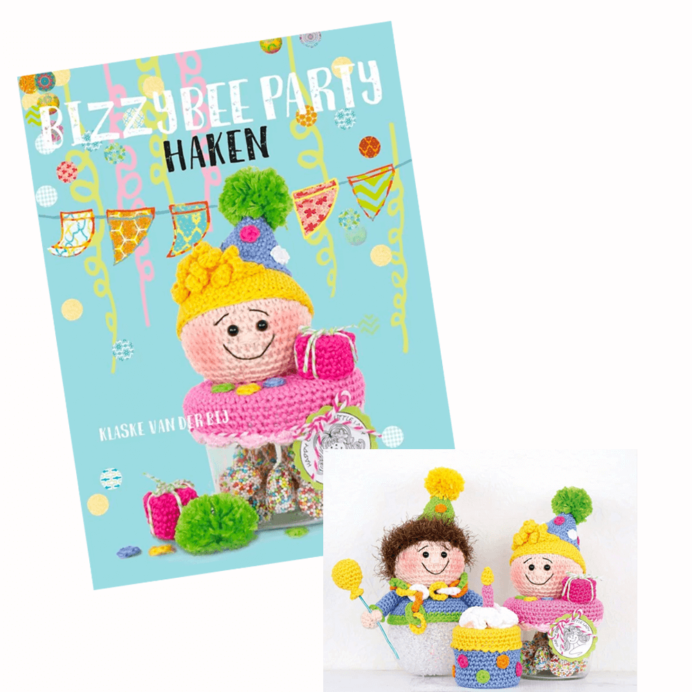 Haakboek Bizzy Bee Klaske - Party Haken 2.png
