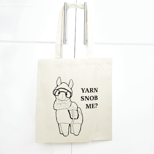 totebag - yarn snob me - productafbeelding.png